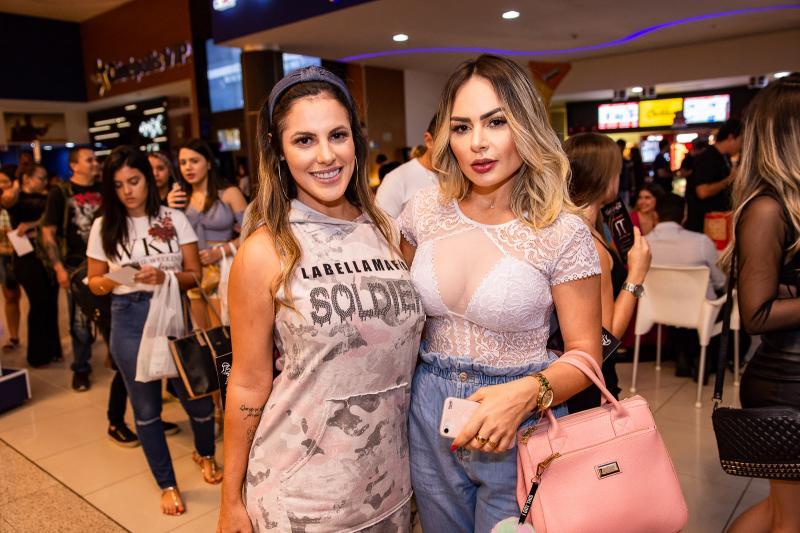 Gabriela Poles e Fernanda Pascoal