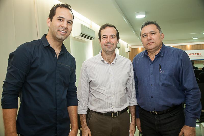 Carlos Dourado, Jose Macedo e Expedito Junior