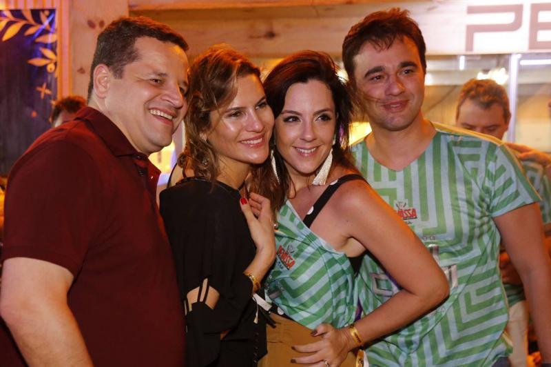 Augusto e Luciana Borges, Joana Fiuza e Lourenco Rola