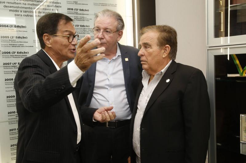Beto Studart, Ricardo Cavalcante e Claudio Targino 2