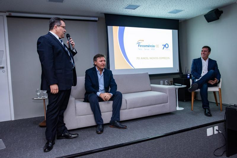 Romildo Rolim, Mauricio Filizola e Luiz Gastao Bittencourt