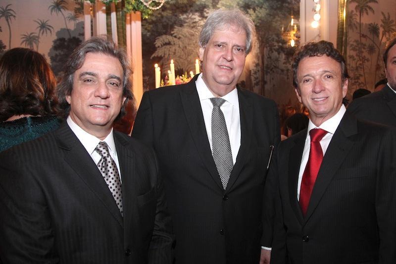 Ernesto Saboia, Aloisio Ximenes e Erivaldo Arraes