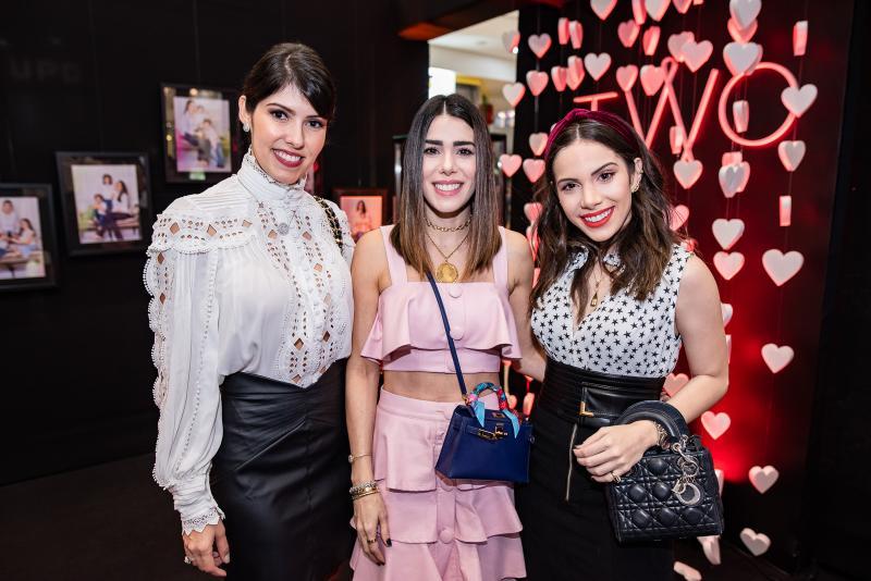 Flavia Laprovitera, Juliana Cordeiro e Nicole Vasconcelos