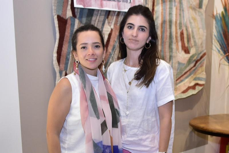 Lara Magalhaes e Catherine Nunes