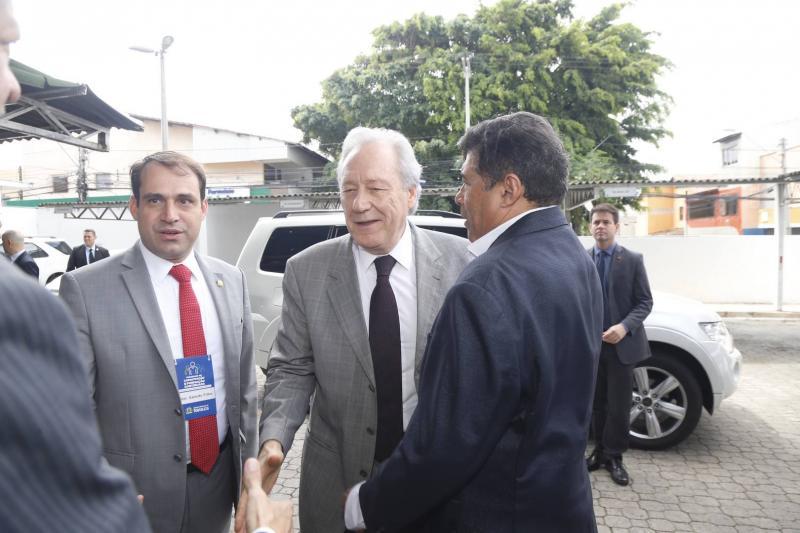 Salmito Filho, Ricardo Lewandowiski e Carlos Alberto Mesquita