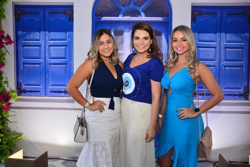 Livia Studart, Carol Guts e Sabrina Oliveira