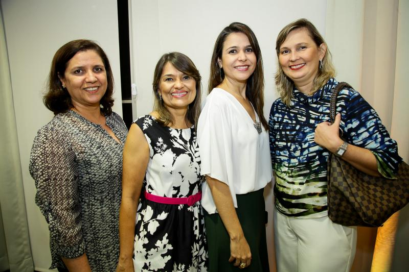 Rita de Cassia, Marcia Zenoteli, Camila Benevides e Renata Santiago
