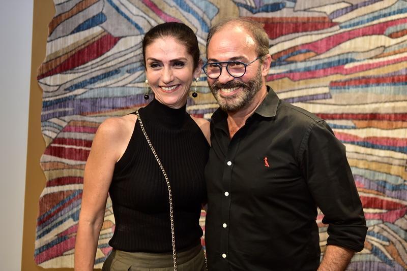 Bete Cunha e Marcus Novais