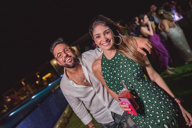 Cicero Marx e Renata Zeidan