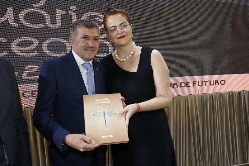 Antonio Henrique e Luciana Dummar