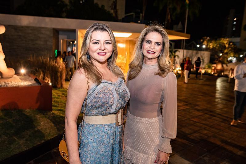 Silvana Guimaraes e Germana Cavalcante