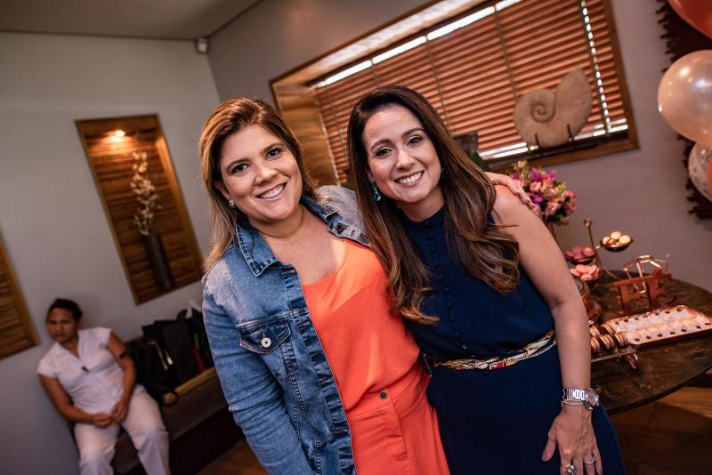 Gisela Vieira e Claudiana Loureiro