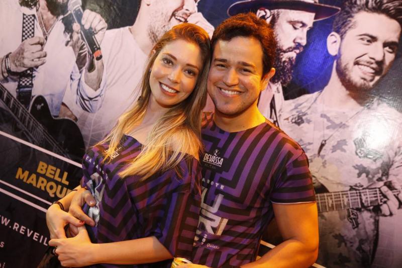 Priscila Tavora e Renato Atilla