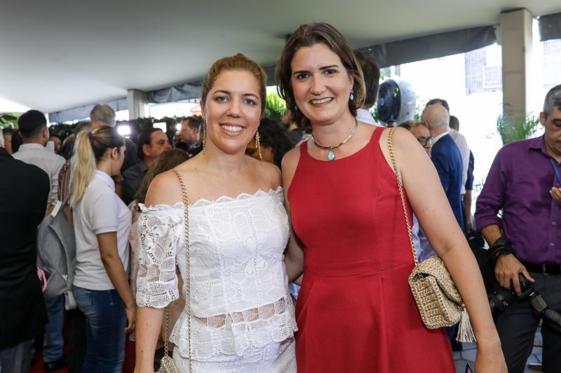 Ticiana Rolim e Manoela Nogueira