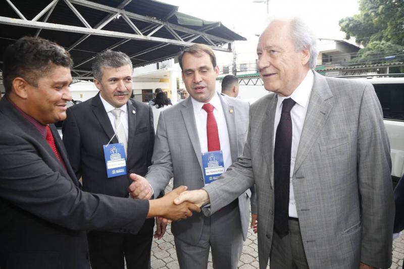 Jonny Monteiro, Antonio Henrique, Salmito Filho e RicardoLewandowski