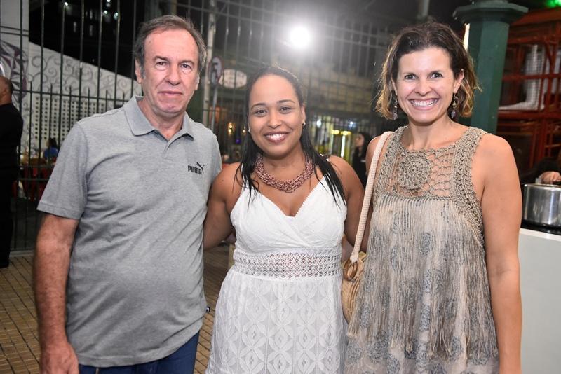 Sergio Pontes, Patricia Pedroso, Denise Pontes