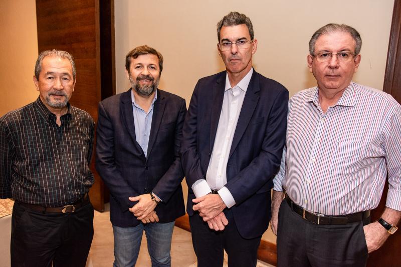 Coronel Romero, Elcio Batista, Geraldo Luciano e Ricardo Cavalcante