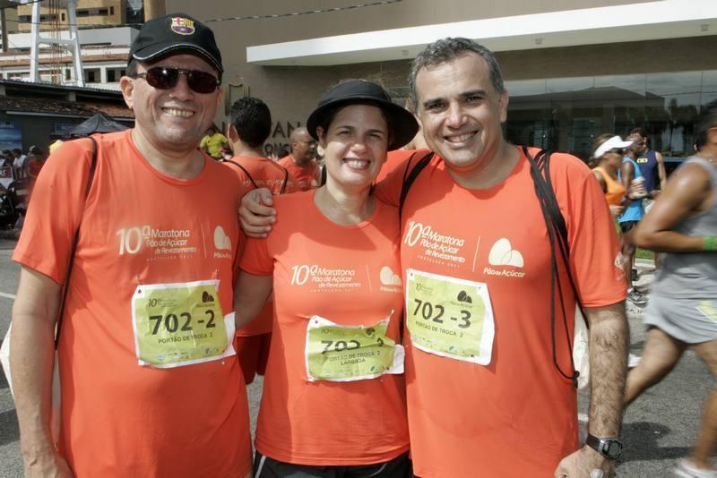 Francisco Guerreiro, Denise e Queiroz Neto