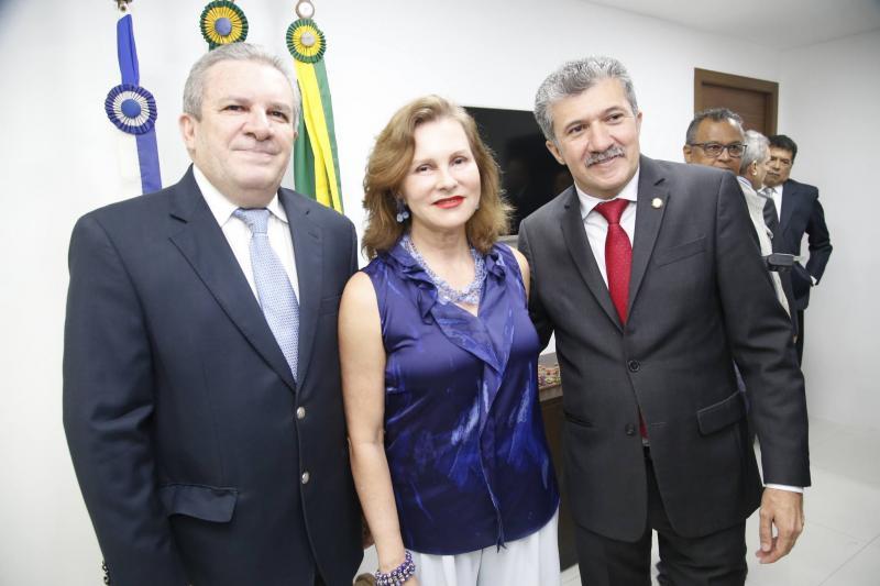 Jaime Cavalcante, Renata Jereissati e Antonio Henrique