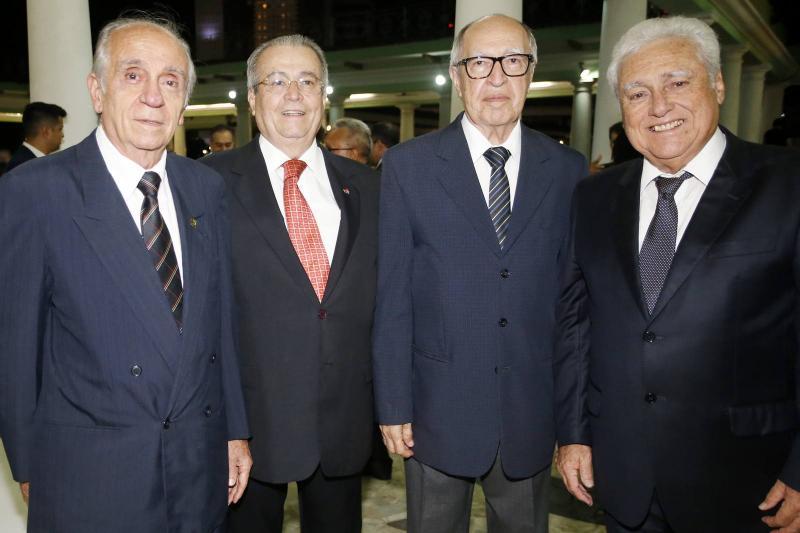 Joao Guimaraes, Meton Cesar de Vasconcelos, Lucio Alcantara e Waldir Diogo