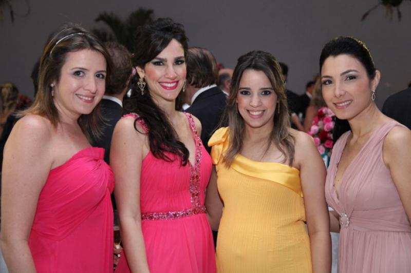 Marina Baquit, Marcela Carvalho, Rafaela Benevides e Daniele Linheiro