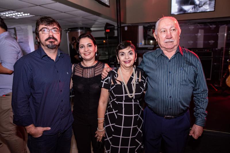 Marcelo Holanda, Cristina e Inês Paiva, Silveira Carvalho
