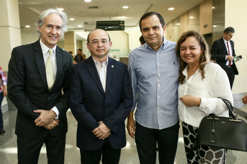 Marcos Pompeu, Sergio Aguiar,Carlos e Fabiola Bruno