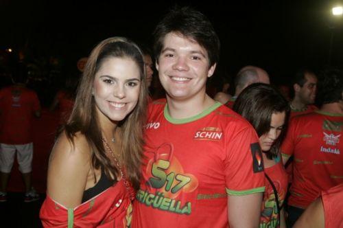 Alice Diniz e Paulo Neto