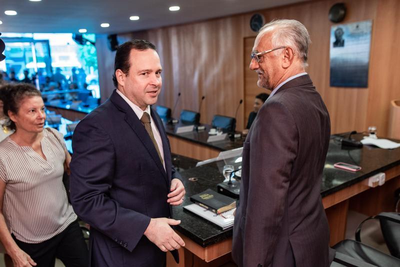 Igor Queiroz Barroso e pastor Dalmacio