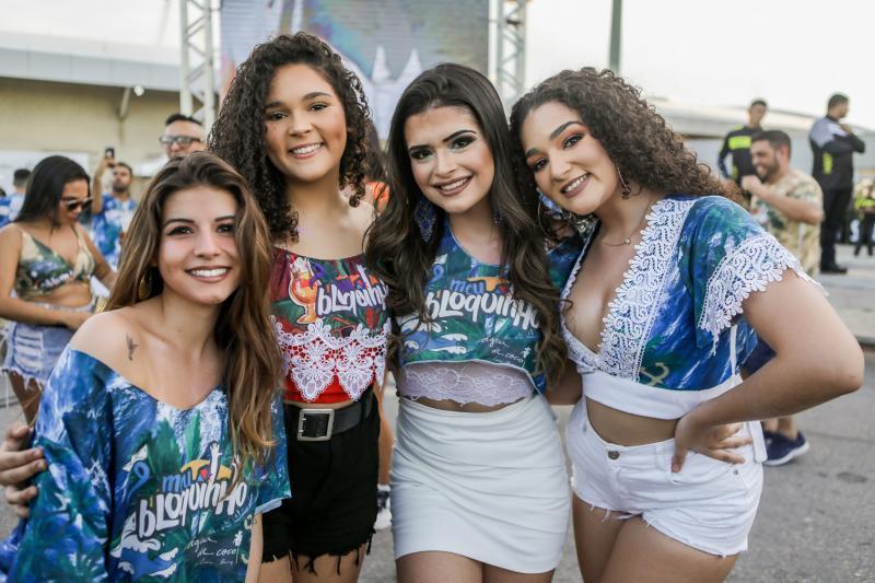 Isa Rocha, Barbara Lana, Larissa Dultra e Bianca Iandra