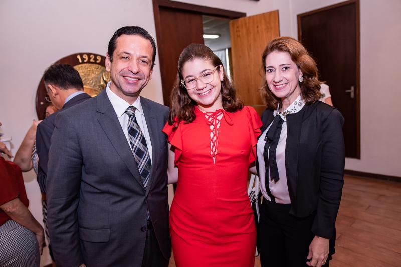 Fred, Natalia e Vivian Albuquerque