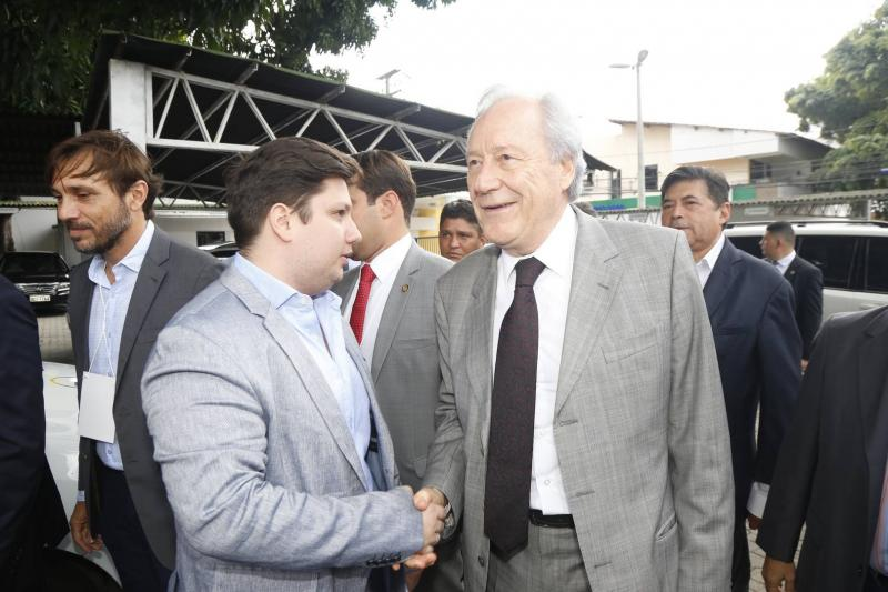 Matheus Luca e Ricardo Lewandowiski