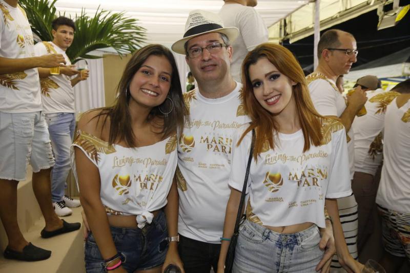 Mirella, Leonardo e Raphaella Salema