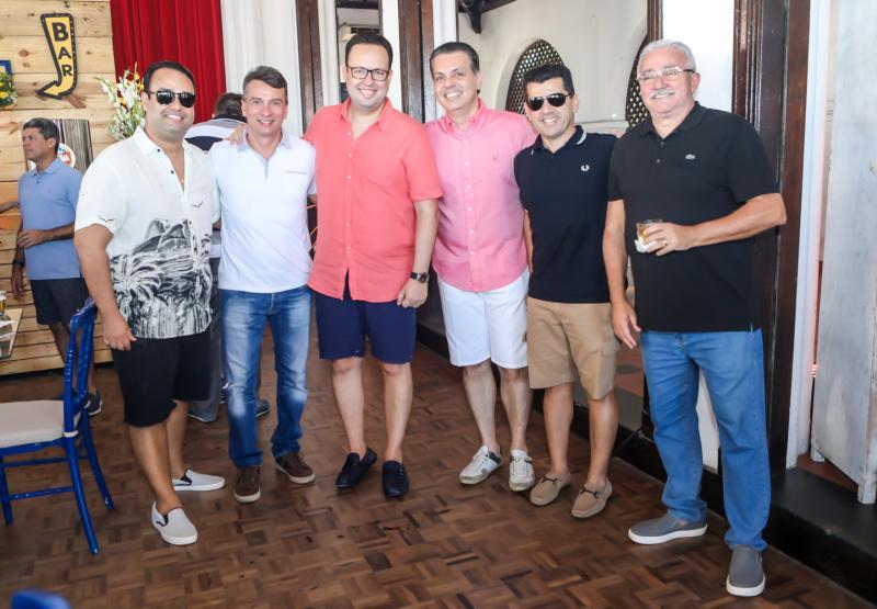 Rafael Joca, Barroso Filho, Daniel Joca, Leo Dallolio, Erick Vasconcelos e Alcimor Rocha