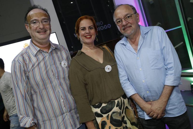 Jonab Fernandes, Irene Dantas e Wagner Barbosa