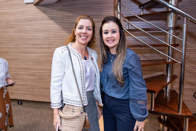 Ticiana Rolima e Liana Fujita