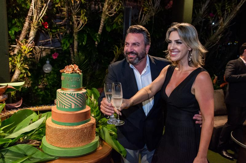 Mario Sergio e Renata Garcia