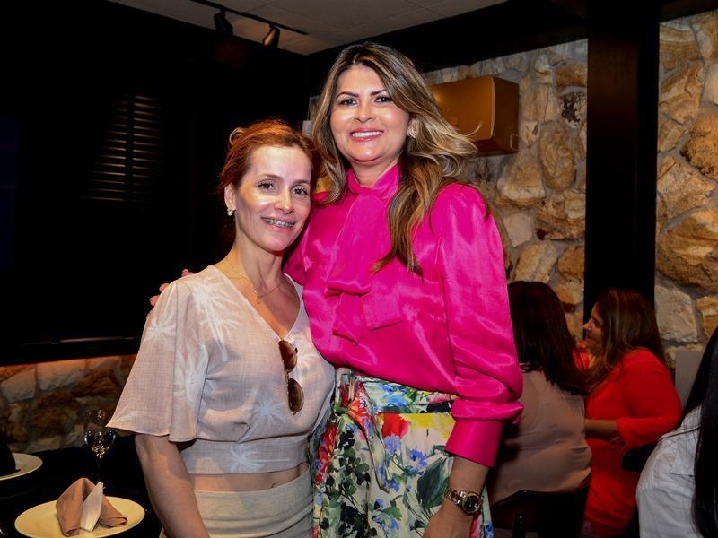 Renata Freire e Michelinne Pinheiro