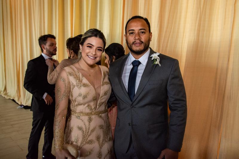 Layla Teixeira e Ciro Pessoa