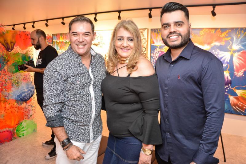 Luciano Rocha, Zilma e Armando Araujo
