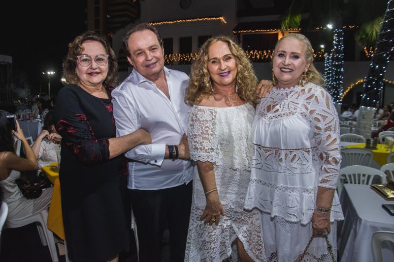 Malaqui Santos, Cicero Santos, Ana Fiuza e Regina Fiuza Ximenes