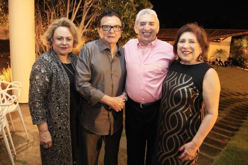 Zenaide Bezerra, Paulo Bezerra, Antonio dos Santos e Ana Maria