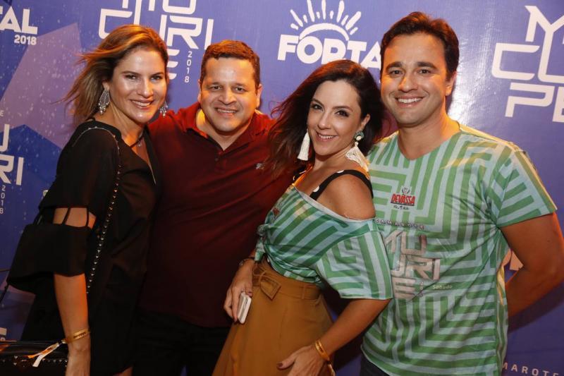 Luciana e Augusto Borges, Joana Fiuza e Lourenco Rola