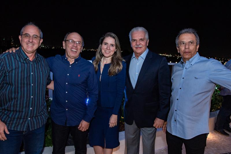 Andre Montenegro, Agueda Muniz, Pio Rodrigues e Eduardo Rolim