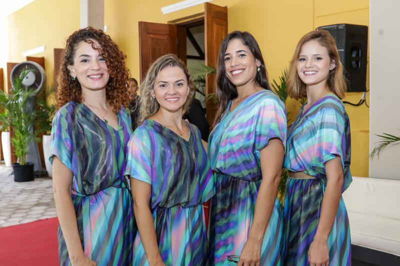 Glaucia Salmito, Bella Gisele, Andresa Lacerda e Lara Alves