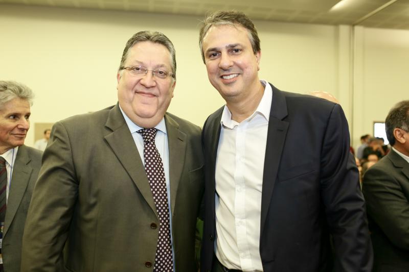 Valdomiro Tavora e Camilo Santana