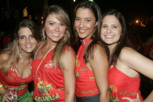 Juliana lobo, Gabriella Farias, Talita Nobrega e Samia Costa