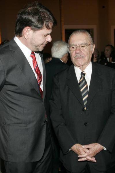 Cid Gomes e Jose Sarney