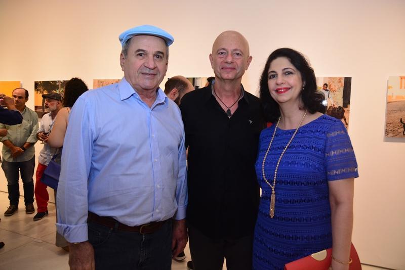 Luciano Maia,Demetrio e Ana Maria Jereissati
