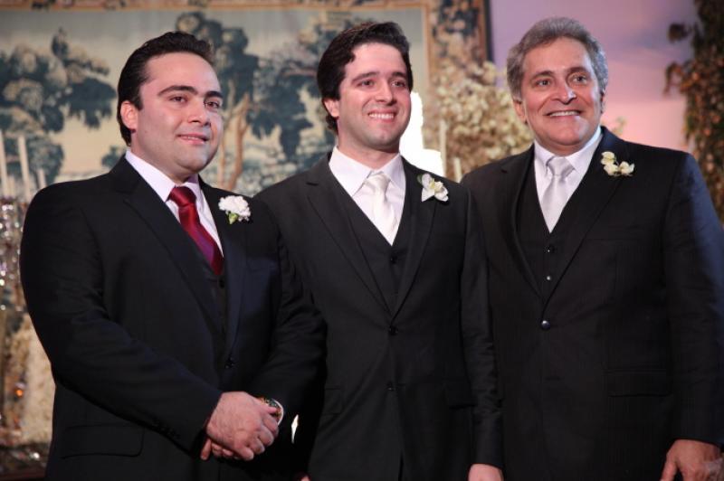 Ozires, Lucas e Luiz Pontes